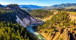 Stock image of West Thumb Geyser Basin, Yellowstone National Park, USA.  stock photography