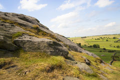 Stock Image - Yorkshire Landscape. Picture of North Yorkshire Landscape taken in Summer stock photos