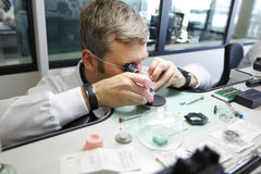 Stock Images of Hublot Watch Factory Stock Image