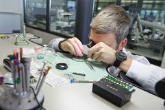 Stock Images of Hublot Watch Factory Stock Images