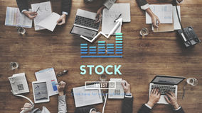 Stock Investment Banking Business Trade Exchange Concept Royalty Free Stock Image