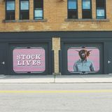 Stock lives. Part of Rochester NY wall therapy movement stock photo