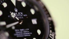 Stock macro video Rolex Watch stock video