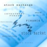 Stock market Stock Image