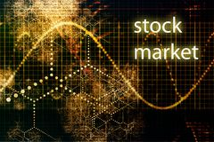 Stock Market. Abstract Business Concept Wallpaper Background Royalty Free Stock Photo