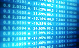 Stock Market Abstract Background Royalty Free Stock Photography