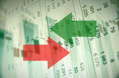 Stock market activity Stock Photography