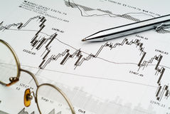 Stock Market Analysis Stock Photos