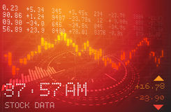 Stock Market Analysis Abstract. As JPG  File Royalty Free Stock Photography