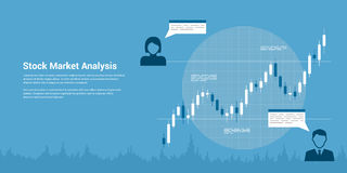 Stock market analysis Stock Images