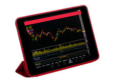 Stock market application Stock Photography