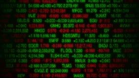 Stock Market Board (Loopable) stock video