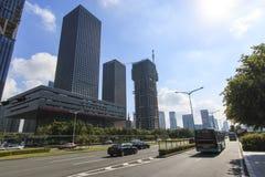 Stock market building in Shenzhen Royalty Free Stock Photos