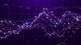Stock market chart. Big Data. Business Graph. Investment graph. Abstract financial chart. 3D rendering. Stock market chart. Business Graph investment graph stock photography