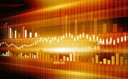 Stock Market Chart. Business image of Stock Market Chart stock illustration