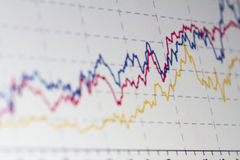 Stock Market Chart stock photo