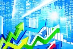 Stock market concept Stock Image
