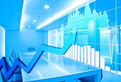 Stock market concept. And background Stock Image