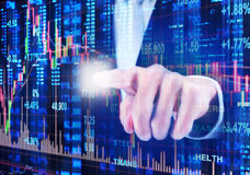 Stock market concept Stock Photo
