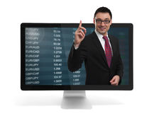 Stock market concept Royalty Free Stock Photo