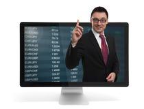 Stock market concept royalty free stock photo