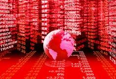 Stock market concept Royalty Free Stock Photos
