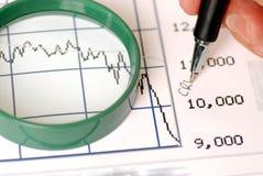 Stock market crash Royalty Free Stock Photography
