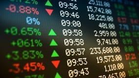 Stock market data royalty free stock photography