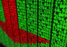 Stock Market Digital Board Stock Photos