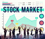 Stock Market Economy Finance Forex Shares Concept Royalty Free Stock Image