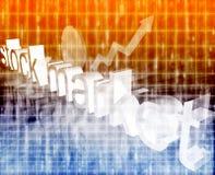 Stock market economy improving Stock Photos