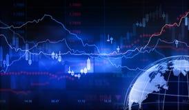 Stock Market. Finance - 3d Rendering Stock Photos