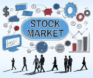 Stock Market Forex Finance Shareholder Exchange Concept Stock Images