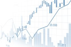 Stock market or forex trading graph in graphic concept. Suitable for financial investment or Economic trends business idea and all art work design. Abstract Stock Images