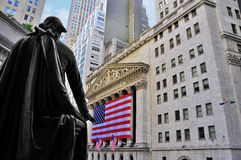 Stock Market by George Washington Royalty Free Stock Images