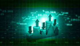 Stock Market Graph Stock Image