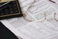 Stock Market I. Deas royalty free stock images