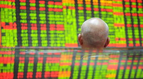 Stock market index Stock Photo