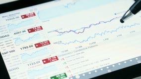 Stock Market - Investing Money stock video