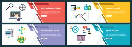 Free Stock Market Investment, Earnings Analysis, Finance Growth Report And Report Analysis Stock Photos - 161218763