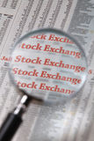 Stock market Royalty Free Stock Photos