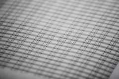 Stock market numbers Royalty Free Stock Photo
