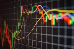 Free Stock Market Quotes Graph. Royalty Free Stock Photos - 38226318