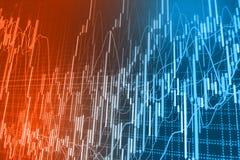 Stock market quotes graph. Stock market quotes graph chart Royalty Free Stock Image