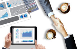 Stock Market Results Stock Trade Report Forex Shares business pe Stock Image