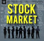 Stock Market Risk Shareholder Finance Concept Stock Image