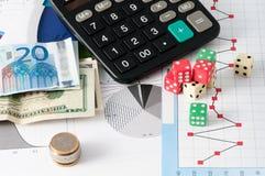 Stock Market Risk Royalty Free Stock Photos