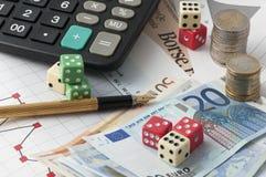 Stock Market Risk Stock Photos