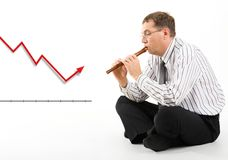 Stock market situation Stock Image