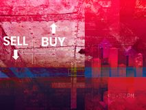 Stock Market Speculation Abstract Illustration. As JPG File Stock Images